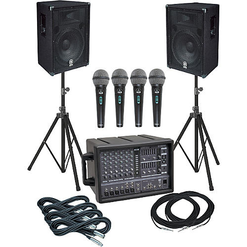 Yamaha EMX66M-BR15 PA Package