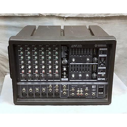 Used yamaha emx68s powered mixer guitar center for Yamaha powered mixers