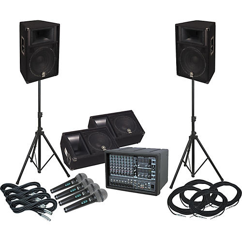 Yamaha EMX88S-S115V-M PA Package