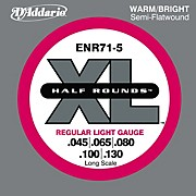 D'Addario ENR71 5 Half Rounds Light 5 String Bass Strings