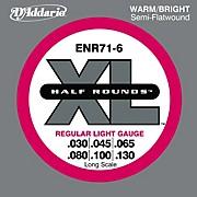 ENR71-6 Half Rounds Light 6-String Bass Strings