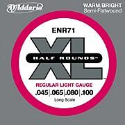 D'Addario ENR71 Half Rounds Light Bass Strings