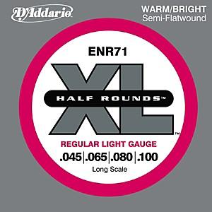 Daddario ENR71 Half Rounds Light Bass Strings