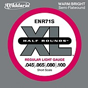 D'Addario ENR71S Half Rounds Light Bass Strings