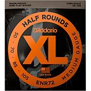 ENR72 Half Rounds Medium Bass Strings