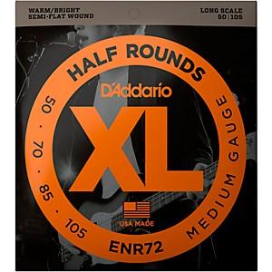Daddario ENR72 Half Rounds Medium Bass Strings