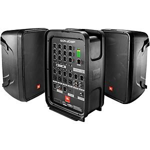 JBL EON208P 300 Watt Packaged PA System by JBL