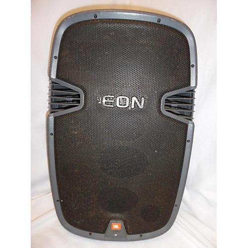 used jbl eon315 powered speaker guitar center. Black Bedroom Furniture Sets. Home Design Ideas