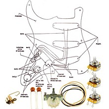 Allparts EP-4120-000 Wiring Kit for Strat