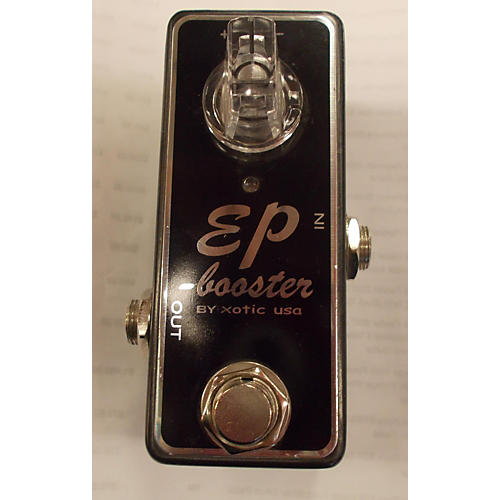 Xotic Effects EP Booster Black Effect Pedal Black