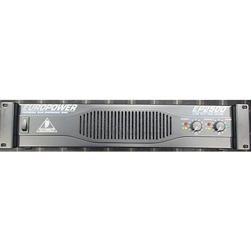 Behringer EP2500 Power Amp-thumbnail