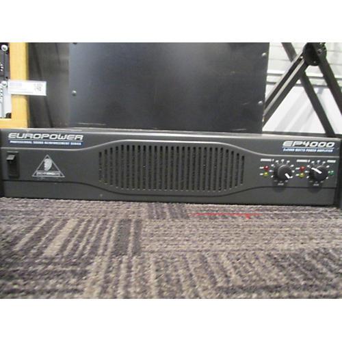 Behringer EP4000 Power Amp-thumbnail