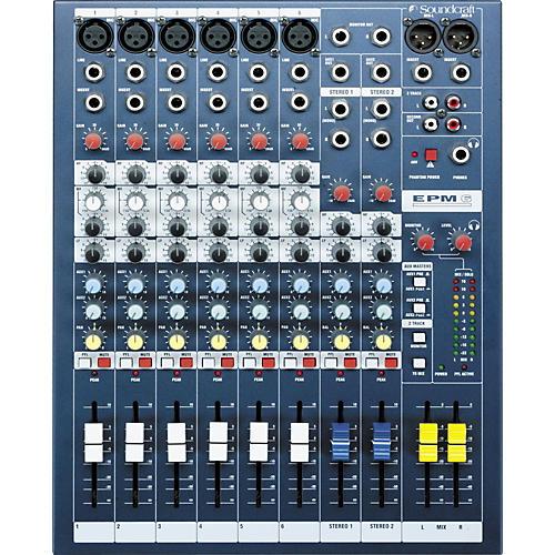 Soundcraft EPM6 6-Channel Multi-Format Mixer-thumbnail