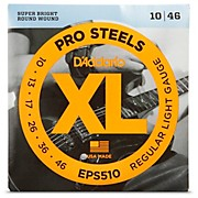 D'Addario EPS510 ProSteels Light Electric Guitar Strings