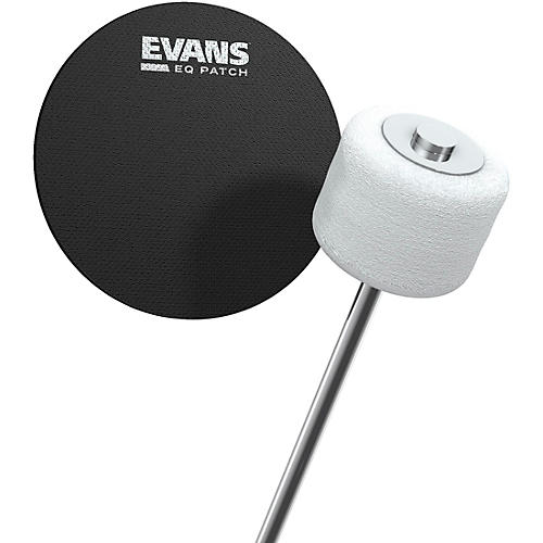 Evans EQ Bass Drum Patch Black