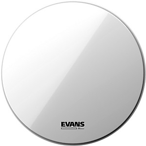Evans EQ3 Resonant Smooth White Tom Drumhead for Floor Tom Conversion by Evans