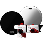 Evans EQ3 System Pack 22 inch Bass Drum Head Set