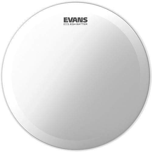 Evans EQ4 Batter Coated Bass Drumhead  18 in.