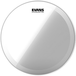 Evans EQ4 Clear Tom Drumhead for Floor Tom Conversion by Evans