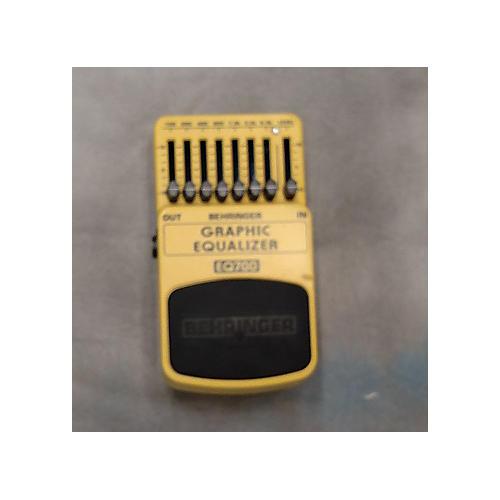 Behringer EQ700 Graphic Equalizer 7-Band EQ Pedal