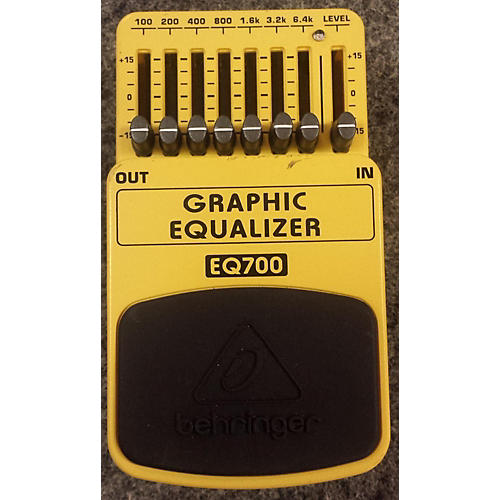 Behringer EQ700 Graphic Equalizer 7-Band EQ Pedal-thumbnail