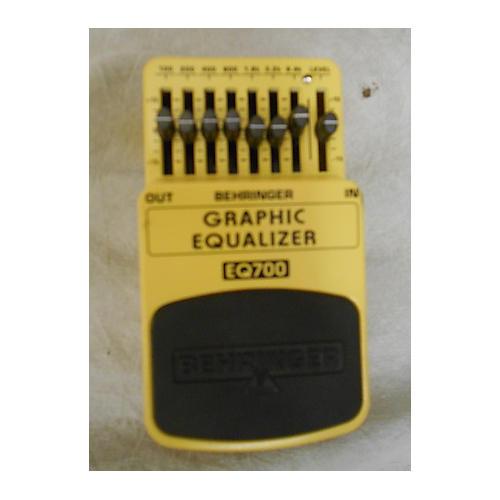 Behringer EQ700 Graphic Equalizer 7-Band EQ Pedal-thumbnail
