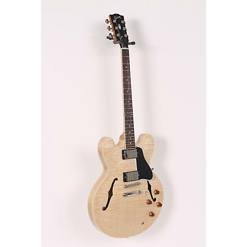 Gibson ES-335 Dot Figured-Top Electric Guitar with Gloss Finish Antique Natural 886830618208