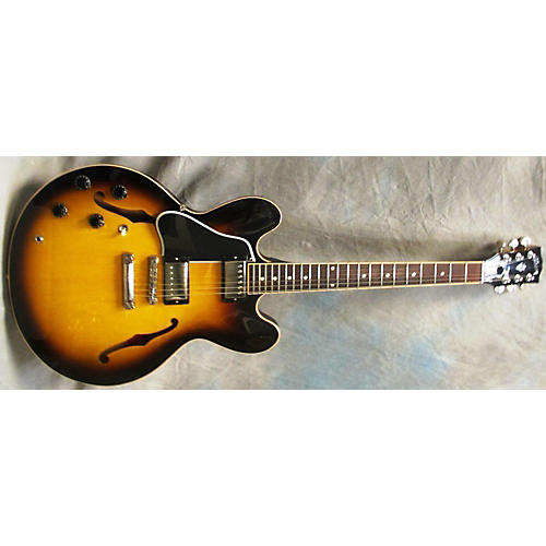 Gibson ES-335 LEFT HAND Sunburst Hollow Body Electric Guitar