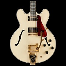 Gibson ES-355 VOS Bigsby Semi Hollow Electric Guitar Classic White