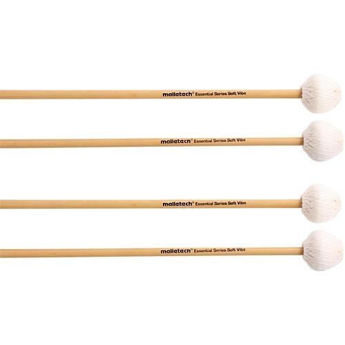 Malletech ES Vibraphone Mallets Set of 4 (2 Matched Pairs)