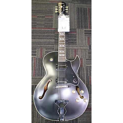 Epiphone ES175 Premium Black And Silver Hollow Body Electric Guitar-thumbnail