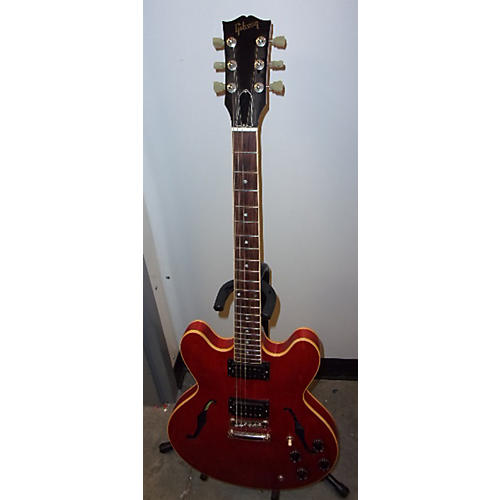 Gibson ES333 Worn Cherry Hollow Body Electric Guitar-thumbnail