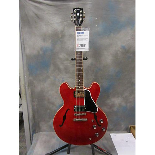 Gibson ES335 Figured Hollow Body Electric Guitar-thumbnail