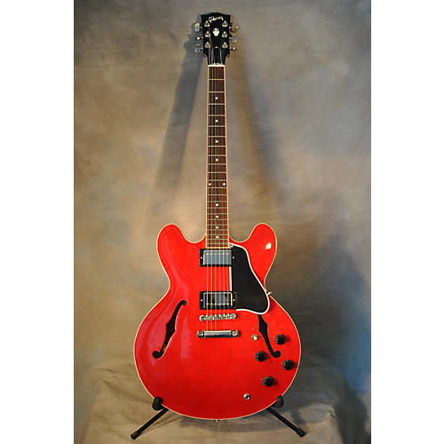 Gibson ES335 Heritage Cherry Hollow Body Electric Guitar-thumbnail