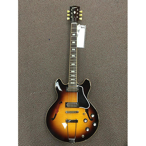 Gibson ES390 3 Color Sunburst Hollow Body Electric Guitar