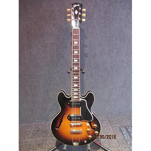 Gibson ES390 3 Tone Sunburst Hollow Body Electric Guitar-thumbnail