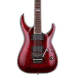 ESP LTD Deluxe H-1001QM Floyd Rose Electric Guitar
