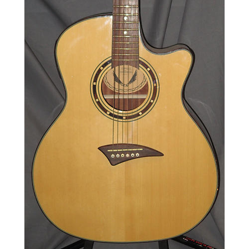 used dean espruce acoustic electric guitar guitar center. Black Bedroom Furniture Sets. Home Design Ideas