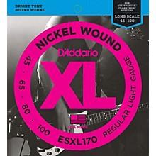 D'Addario ESXL170 Double Ball Soft Bass Guitar Strings
