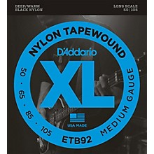D'Addario ETB92 Nylon Tapewound Medium Gauge Bass Strings