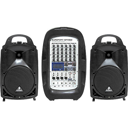 Behringer EUROPORT EPA800 800W 8-Channel Portable PA System