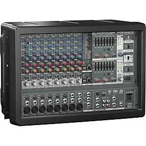 Behringer EUROPOWER PMP1680S 10-Channel Powered Mixer by Behringer