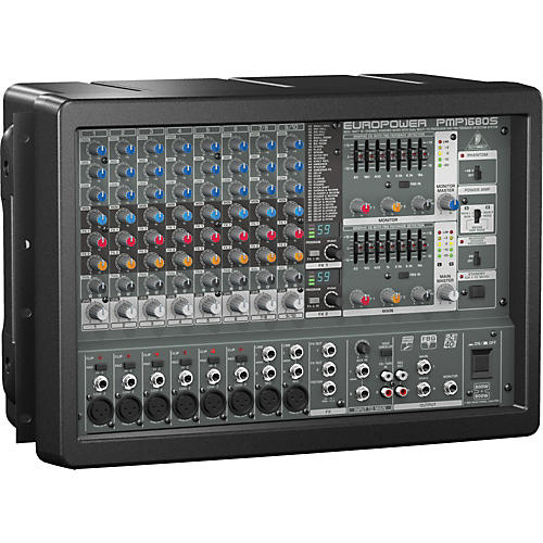 Behringer EUROPOWER PMP1680S 10-Channel Powered Mixer-thumbnail