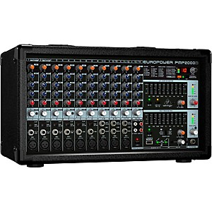 Behringer EUROPOWER PMP2000D 800-Watt 14-Channel Powered Mixer with Multi-F... by Behringer