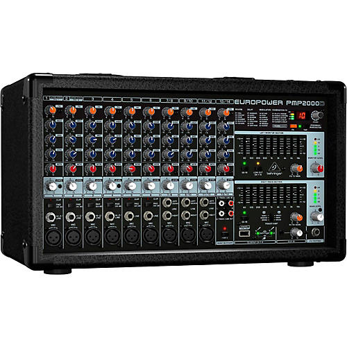 Behringer EUROPOWER PMP2000D 800-Watt 14-Channel Powered Mixer with Multi-FX Processor-thumbnail