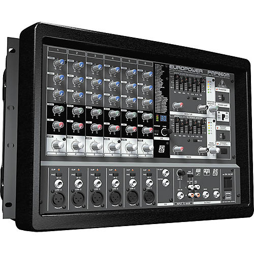 Behringer EUROPOWER PMP860M 800W 8-Channel Powered Mixer-thumbnail