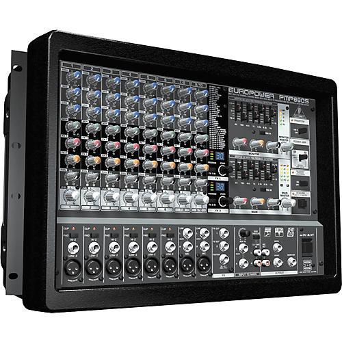 Behringer EUROPOWER PMP880S 800-Watt 10-Channel Powered Mixer-thumbnail