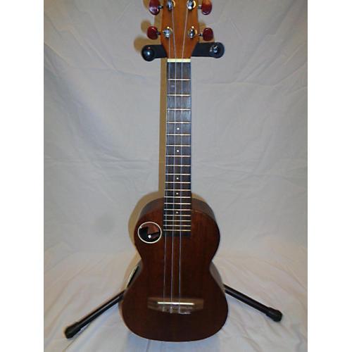 used boulder creek eut 5ns ukulele natural guitar center. Black Bedroom Furniture Sets. Home Design Ideas
