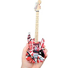 Unique Engineering EVH Frankenstein (Red and White) Miniature Replica Guitar - Van Halen Approved