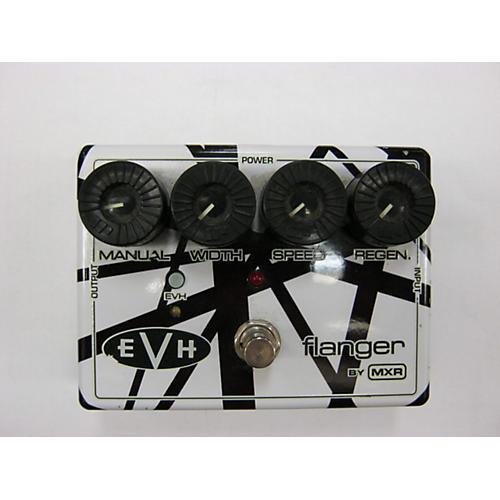 MXR EVH117 Eddie Van Halen Flanger Black And White Effect Pedal